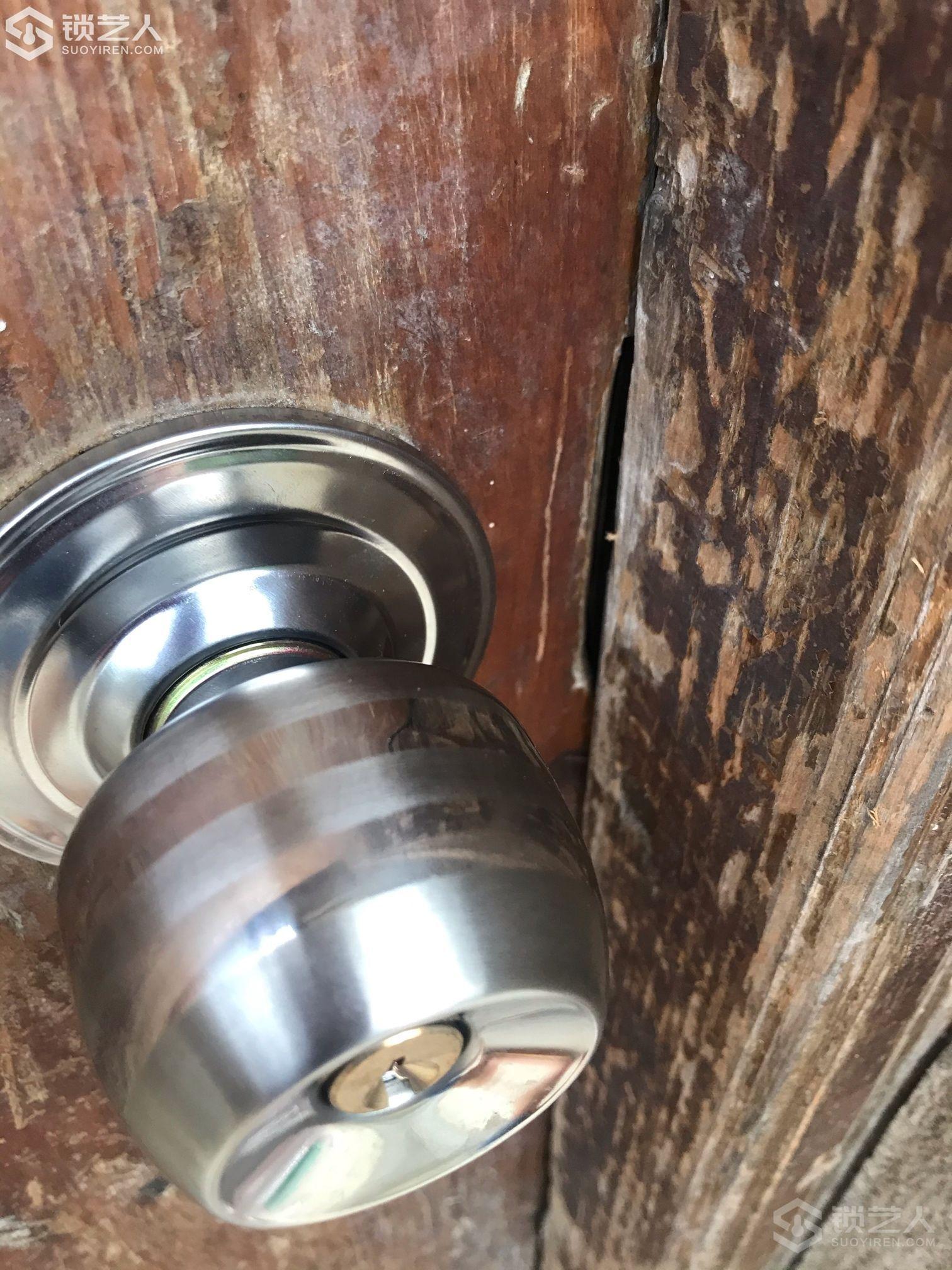 这种锁,客户都知道怎样开了